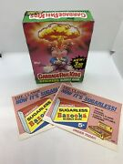 1986 Topps Garbage Pail Kids Stickers Bubble Gum Series 3 Box Of 48 Sealed Packs