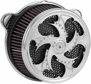 Xtreme Machine 0206-2069xch-ch Challenger Air Cleaner - Chrome - Used