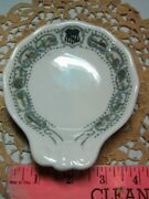 Up Union Pacific Railroad China Historical Pattern Tl Bm Nut Shell Dish Vintage