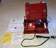Thumlerand039s Tumbler Model B Rock Tumbler Polisher Rotary Unit Red Smoother