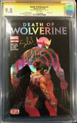 Herb Trimpe And Charles Soule Signed Death Of Wolverine 1 Cgc Ss 9.8 Comic Book
