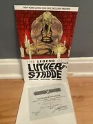 The Legend Of Luther Strode New York Comic Con 2012 Exclusive Preview Signed Coa
