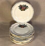 Very Rare 18th Century French Faience Plates - Set Of 12