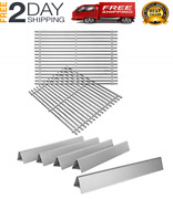New Cooking Grates With Flavorizer Bars For Weber Genesis 300 E310 E320 E330 S31