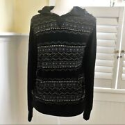Mr. Turk M147215 Tribal Print Ethan Pullover Hoodie Men's Size Small 224 Retail