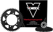 Vortex 520 Sx3 Chain And Sprocket Kit With Front And Rear Sprockets Ck6272