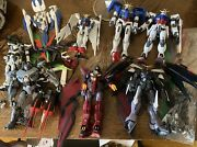 Mobile Suit Gundam 5'' Collection Lot Gundam Wing Collectibles As Is