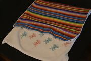 Rare Amigos Serape Fiesta Golf Towel / Limited Sold Out / Very Good Condition