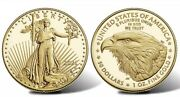 2021 American Eagle One-half Ounce Gold Proof Coin 21ecnandnbsptype 2 In Hand
