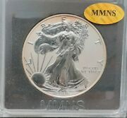 2006-p Reverse Proof Am. Silver Eagle - Deep Cameo - In Plastic Holder -mmns A16