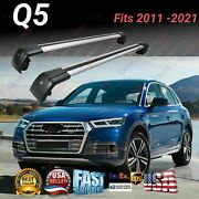 Fits For Audi Q5 11-21 Suv Top Roof Rack Cross Bar Baggage Luggage Carrier Bar