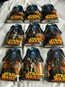 Star Wars Revenge Of The Sith Action Figures Lot Of 9 Nib