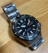 Seiko Skz325j1 Discontinued Divers Japan Automatic Mens Watch Authentic Working