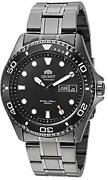 Orient Ray Raven Ii Japanese Automatic Men's Stainless Steel Casual Watch Blac