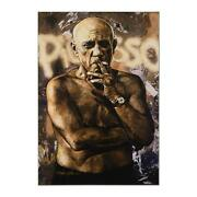 Stephen Holland Hand Signed Giclee Pablo Picasso Embellished
