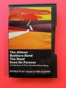 Allman Brothers The Road Goes On Forever - Slipcase Cassette Tape 1975 Tested