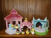 Fisher Price Little People Princess Garden Party Talking Playset W/ 7 Figures
