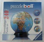 Ravensburger Puzzleball World Earth 240 Puzzle Pieces With Stand Sealed New
