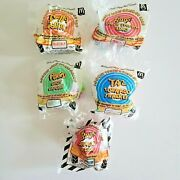 1992 Looney Tunes Mcdonalds Happy Meal Toys Complete Set Of 4 + 1 U3 Sealed