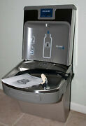 Elkay Ezh2o Water Drinking Cooler Fountain With Bottle Filling Station Lzs8wslp