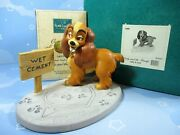 Wdcc Lady And The Tramp Lady In Love In Box Coa 410898 Disney