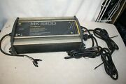 Minn Kota Mk330d Digital Charger 3 Bank 10 Amps Powers On -as Is