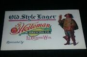Rare Pre Pro Heileman Brewery, Old Style Beer, Lacrosse Wisconsin Business Card