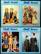 Ufdc Doll News Magazine Andbull Lot Of 4 Quarterly Issues Andbull Complete Year 1998