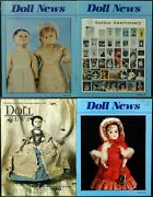 Ufdc Doll News Magazine Andbull Lot Of 4 Quarterly Issues Andbull Complete Year 1999