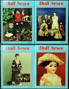 Ufdc Doll News Magazine Andbull Lot Of 4 Quarterly Issues Andbull Complete Year 1991