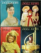 Ufdc Doll News Magazine Andbull Lot Of 4 Quarterly Issues Andbull Complete Year 1994