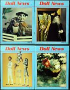 Ufdc Doll News Magazine Andbull Lot Of 4 Quarterly Issues Andbull Complete Year 1992