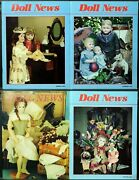 Ufdc Doll News Magazine Andbull Lot Of 4 Quarterly Issues Andbull Complete Year 1993