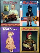 Ufdc Doll News Magazine Andbull Lot Of 4 Quarterly Issues Andbull Complete Year 1987