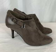 Impo Brown Faux Suede Boots / Booties Size 9m