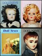 Ufdc Doll News Magazine Andbull Lot Of 4 Quarterly Issues Andbull Complete Year 1997