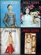 Ufdc Doll News Magazine Andbull Lot Of 4 Quarterly Issues Andbull Complete Year 1995