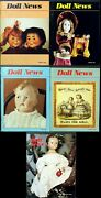 Ufdc Doll News Magazine Andbull Lot Of 4 Quarterly Issues Andbull Complete Year 1989