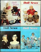 Ufdc Doll News Magazine Andbull Lot Of 4 Quarterly Issues Andbull Complete Year 1988