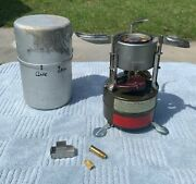 Vintage Unfired Vietnam Era 1966 Rogers M-1950 Us Military Gas Stove With Case