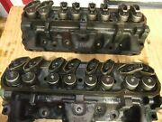 1972 Pontiac Cylinder Heads Casting Number 7m5 From A 455