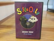 Sifl And Olly Season 3 The Lost Episodes + Extras Dvd Mtv Puppets Scarce In Case