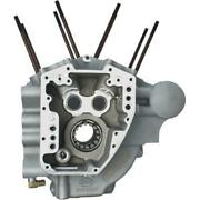 Sands Cycle 310-0366a Twin Cam Engine Case - Stock Bore - Silver Powder Coat