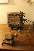 Old 1939 Philco Am Automobile Radio Model 926 Tube Type With External Controls