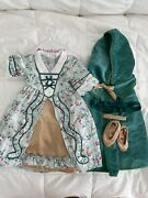American Girl Doll Elizabeth Holiday Gown- Complete Set