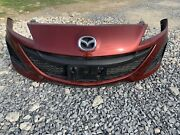 10-11 Mazda 3 Oem Used Front Bumper Assembly With Grille. Local Pickup Only