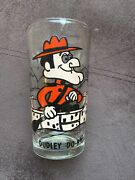 Vtg Dudley Do-right Pepsi Glass Collector Series © P.a.t.-ward Black Letters