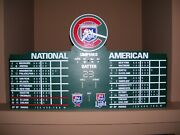 Chicago Cubs Wrigley Field Scoreboard Clock Old Style Beer Rare