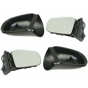 For Mercedes-benz Ml500 Mirror 2002-2005 Lh And Rh Pair Power Heated