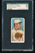 1909 T206 Sweet Caporal Walter Johnson Hands At Chest Sgc 1.5